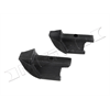 67-68 Nova 2dr Hardtop Vent Window Bumper, PAIR