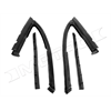 68-72 GM 'X' Body 2door Models, Vent Window Seals, Pair