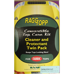 RaggTopp Convertible Top FABRIC Care, Kit