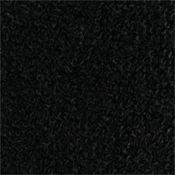67-69 Camaro or Firebird Molded Carpet - BLACK loop with MASS Backing