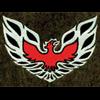 1974-81 Firebird Carpeted Floor Mats, 4pcs, BLACK Cutpile With Logo #38 (Bird)